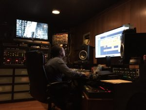 Recording Engineer Gregory Cook