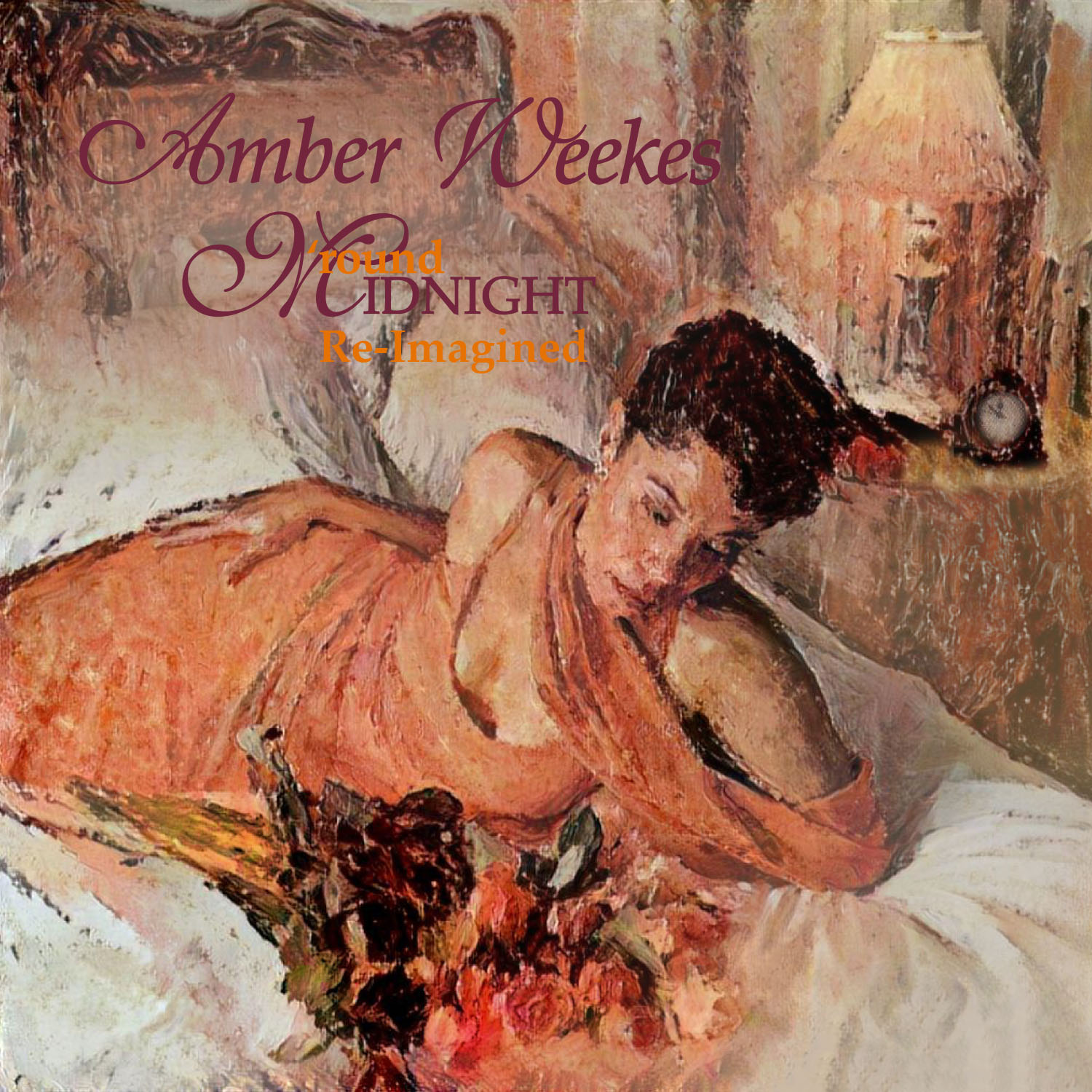 Amber Weekes Round Midnight Re-Imagined cd cover